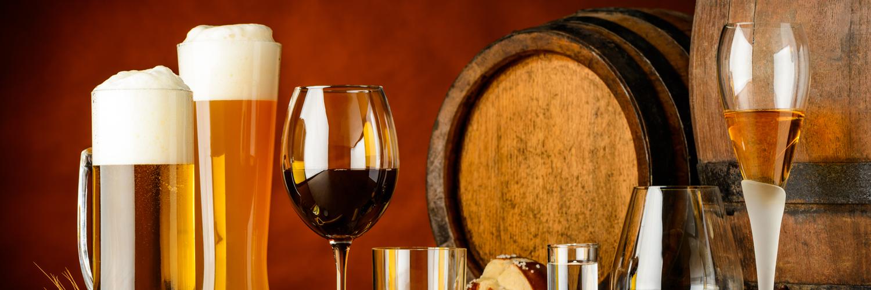 Birre artigianali, vini, spirits & soft drinks